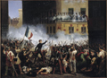 Battle in Rue de Rohan, July 29, 1830