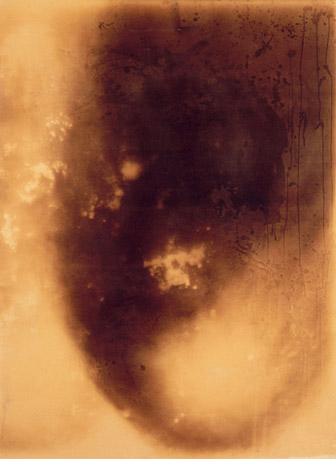 Untitled Painting of Fire (F 74) - Yves Klein