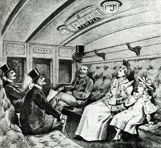 indicateur de « prochaine station », illustration