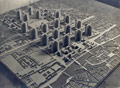 Model of the Voisin Plan for Paris - Le Corbusier