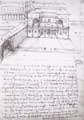 Plans for a city, taken from Manuscript B - Leonardo da Vinci