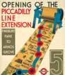 Opening of the Picadilly line extension
