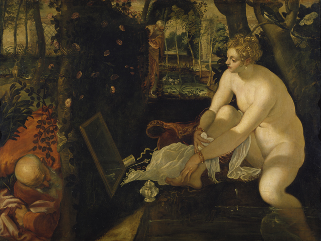 Susanna at her Bath - Jacopo Robusti, called Tintoretto