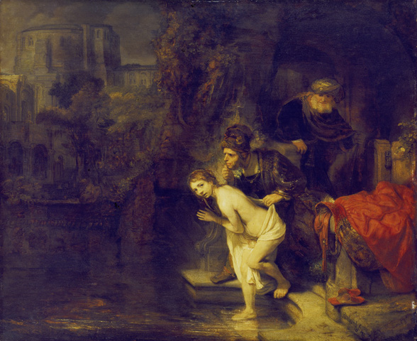 Susanna and the Elders - Rembrandt van Rijn
