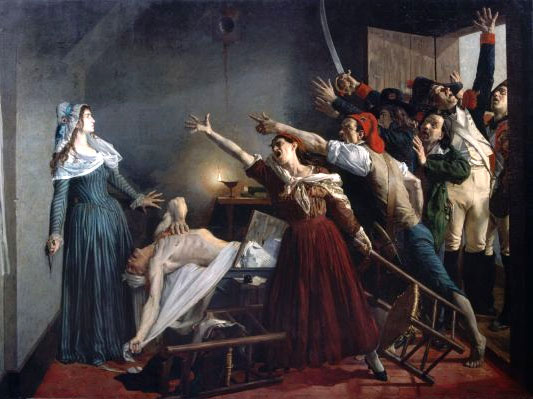 Marat assassinated! July 13, 1793, 8 o'clock in the evening - Jean-Joseph Weerts