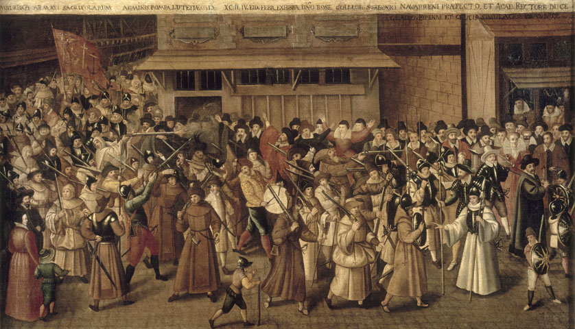 Procession of the Holy League in the Streets of Paris - François Bunel II