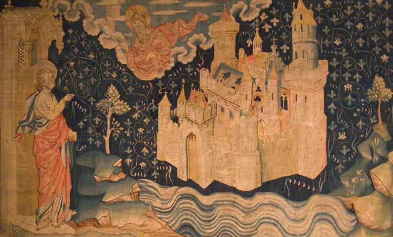 The Apocalypse Tapestry (detail) - Hennequin de Bruges