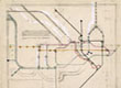 Sketch for the London Underground map