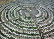 Circular Housing Development - Sun City, Arizona
